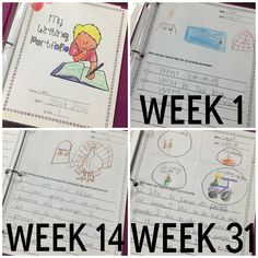 Blog post about using writing portfolios in a lower elementary classroom!