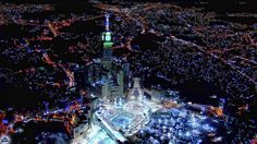 Mecca at night