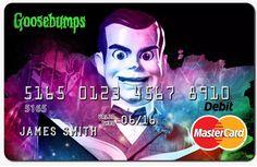 Slappy the Dummy MasterCard - Goosebumps Movie 2015