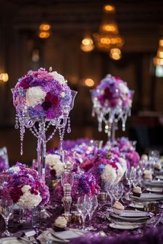 Purple Wedding Inspiration - Enchanting Orchid by Sofia Katherine Photography | Calgary Wedding Photography