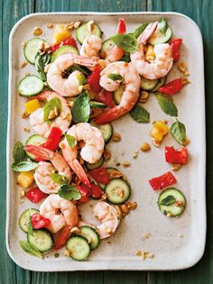 Shrimp, Tomato and C