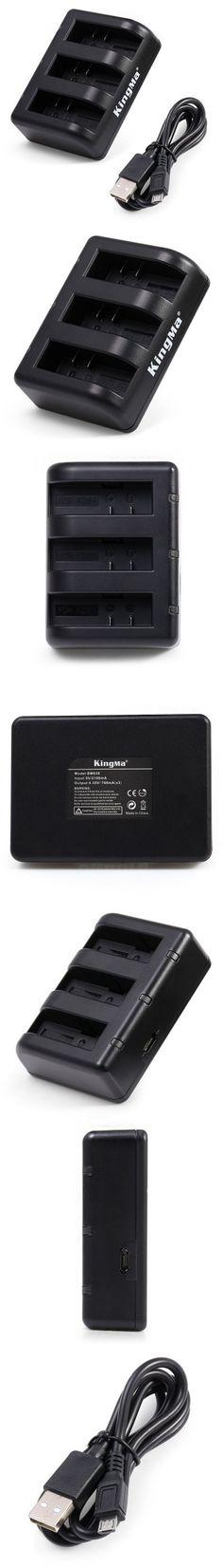 KingMa Three Port Battery Charging Dock for Xiaomi Yi II-4.70