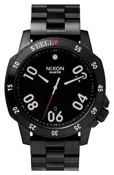 Men's Nixon 'The Ranger' Bracelet Watch, 44mm