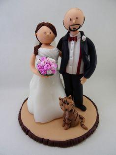 Trachten Brautpaar Hochzeitstortenfigur fr die Hochzeitstorte  Trachten Tortenfigur fr die