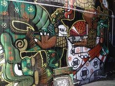 San Francisco, California Street Art Graffiti