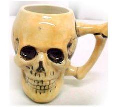 Love this skull coffee mug http://2.bp.blogspot.com/_dXDZmgVew5A/Spg-r8_s1ZI/AAAAAAAAFmw/B9ohm2jW9WE/s400/skull+coffee+cup.jpg