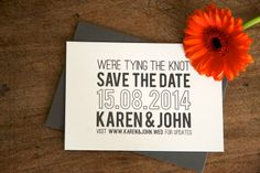 For unique wedding stationery in Ireland, look no further than Magva - letterpress wedding invitations, bespoke graphic design, this is the creme de la creme Letterpress Wedding Stationery, Unique Wedding Stationery, Tie The Knots, Save The Date, Day, Simple, Design, Collection, Tying The Knots