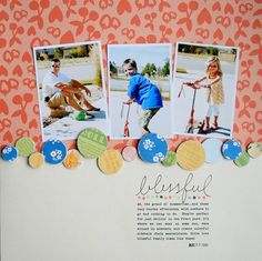 blissful{Scrapbook Trends Quick & Easy} - Two Peas in a Bucket