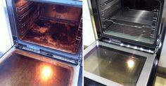 Hvis det ser ud som om, at nogen har smurt din ovn ind i lasagne for et års tid siden, så er den nemme løsning her.