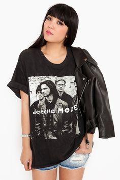 Depeche Mode tee