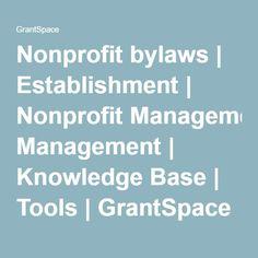 9 Non Profit Resources By Laws Ideas Non Profit Nonprofit Management Profit