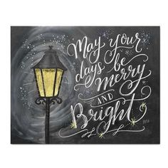 May Your Days Be Merry & Bright - Print Plus