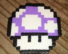 Items similar to Mario Mushroom Coasters Set of 4 on Etsy