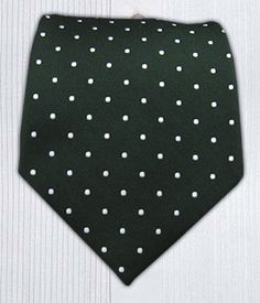 Hot Dot - Hunter || Ties - Wear Your Good Tie. Every Day - Hot Dots - Hunter Ties