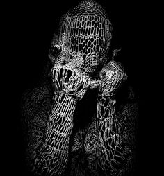 "Elena Papaioannou Photography -  ""knitting human 5"", 2008. S)"