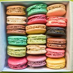 Art & Candy: Macarons, mon amour!