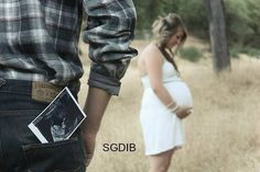 Cute country family western cowboy cowgirl pregnant maternity picture