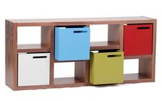 Contemporary storage boxes in a choice of neutral or vibrant colours