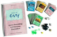 Evy against Everything and Everyone Everywhere | Image | BoardGameGeek