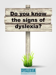 """Do you know the signs of dyslexia? Find out during the """"What is dyslexia?"""" In-Depth Class by Dyslexia Training Institute."""