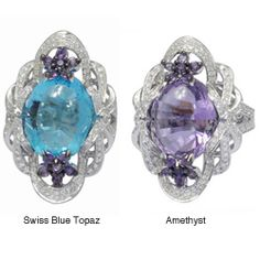 @Overstock - Amethyst/Swiss blue topaz and diamond ringThis ring is available in size 7 only Click here for ring sizing guidehttp://www.overstock.com/Jewelry-Watches/De-Buman-18k-Gold-Amethyst-Swiss-Blue-Topaz-and-1ct-TDW-Diamond-Ring-G-H-VS1/6531742/product.html?CID=214117 $4,069.99