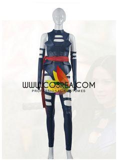 Marvel Xmen Apocalypse Psylocke Cosplay Costume