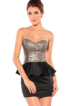 Dear-lover Women's Graceful Gleam Sequins Strapless Dress, Size Small Black Dear-lover,http://www.amazon.com/dp/B00DRBAMYS/ref=cm_sw_r_pi_dp_4f00sb13CR8KJ9WX