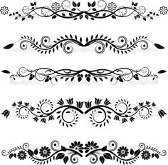 1000 Images About Line Art Borders On Pinterest