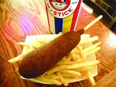 Mall Food Court Copycat Recipes: Hot dog on a Stick