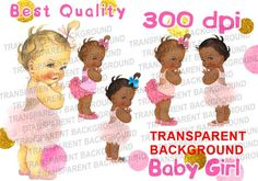 Cute kids clipart png transparent background pink roses shoes and pink ruffle pants and dress