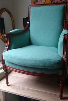 Klassieke stoel   Atelier Stof Veertje