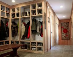 Now that's a mudroom!