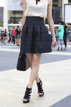 full, structured skirt. obsessed.