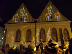 Videomapping - Bethlehem Chapel