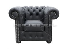 otel Chesterfield, styl angielski, armchair, głęboko pikowany, skóra, skin, czarny, black, comfortable, wygodny 1888672_fotel_chesterfield_classic.jpg (827×600)