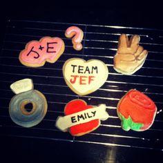 "ABC's ""The Bachelorette"" Sugar Cookies (University Foodie)"