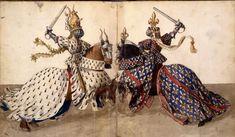 Barthelemy d'Eyck,   Rene d'Anjou Livre des Tournois  XVth c France