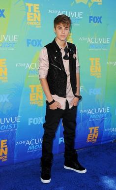 Justin Bieber - Teen Choice Awards 2011