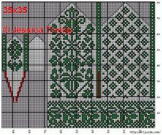 A million knitting patterns and fair isle charts here! Knitted Mittens Pattern, Fair Isle Knitting Patterns, Crochet Mittens, Knitting Charts, Knitted Gloves, Knitting Stitches, Knitting Socks, Norwegian Knitting, Chart Design