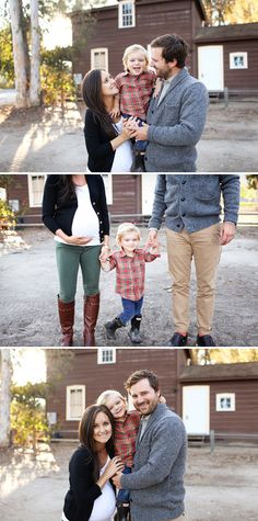 Adorable family maternity photos by Kelsey Lauren Photography based in San Diego.
