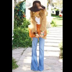 Big sun hat/Big clutch/Big pants