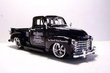 1953 Chevy Jack Daniels Gráficos Personalizados Preto Captador Diecast