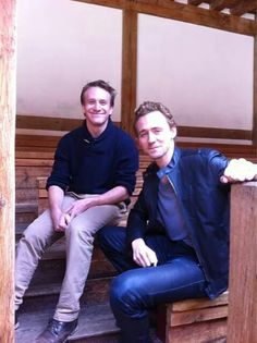 Tom Hiddleston- GUYS this is at the globe theatre! Look at those seats! I wonder what Tom was seeing. I would love to go the Globe one day...maybe I will see Tom there and we can bond over Shakespeare. :)