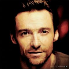 2-portrait Sublime De Hugh Jackman Nlc Art by NLCARTSUBLIME.deviantart.com on @deviantART