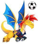 Soccer Dragon from Dragon City :)