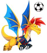 Soccer Dragon from Dragon City :)