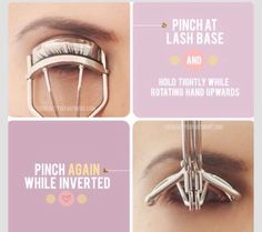The Right Way To Curl Your Lashes