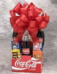 candy baskets for birthdays coke | Nostalgic Gift Baskets - Old Fashioned Candy - Coca-Cola
