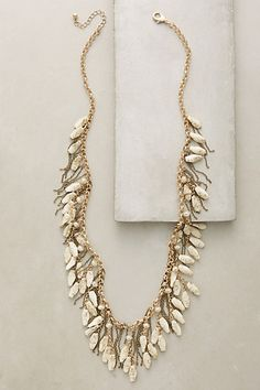 Aglauros Fringe Necklace #anthropologie