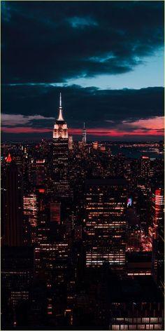 New York Wallpaper, City Wallpaper, Sunset Wallpaper, Wallpaper Backgrounds, Travel Wallpaper, Screen Wallpaper, City Skyline Wallpaper, Cityscape Wallpaper, Trendy Wallpaper
